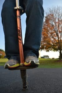 how to jump Pogo Stick